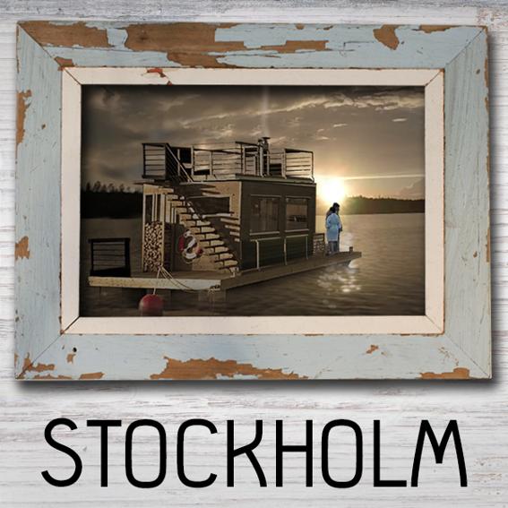 Stockholm - 2 Std. Saunafloß für  2 Personen