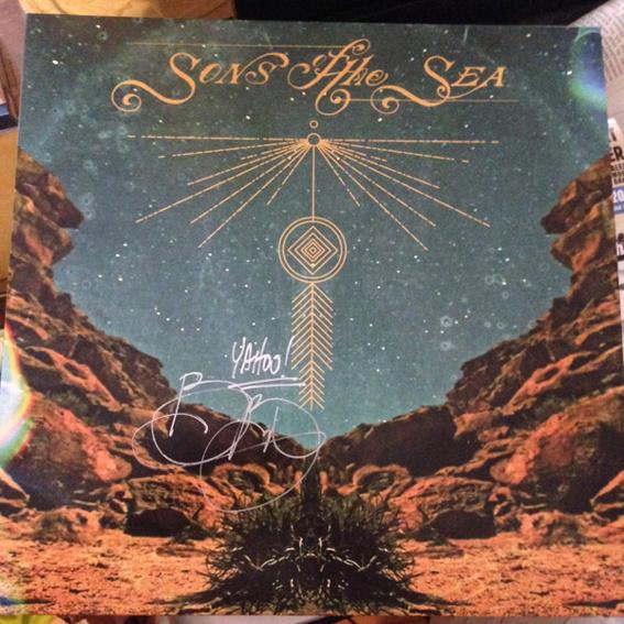 Signiertes Album BRANDON BOYD - Sons Of The Sea