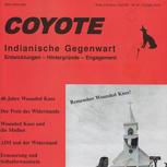 """Jahresabo des Magazins """"Coyote"""""""