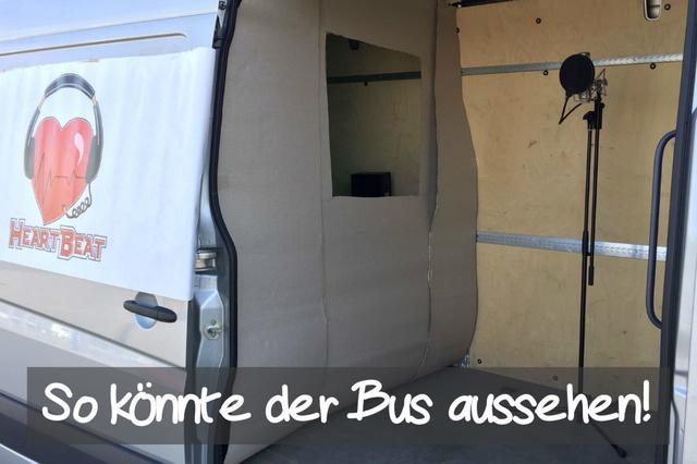 Heartbeat Bus: Mobiles Foto-, Film- und Tonstudio