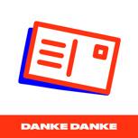 Stickerpostkarte