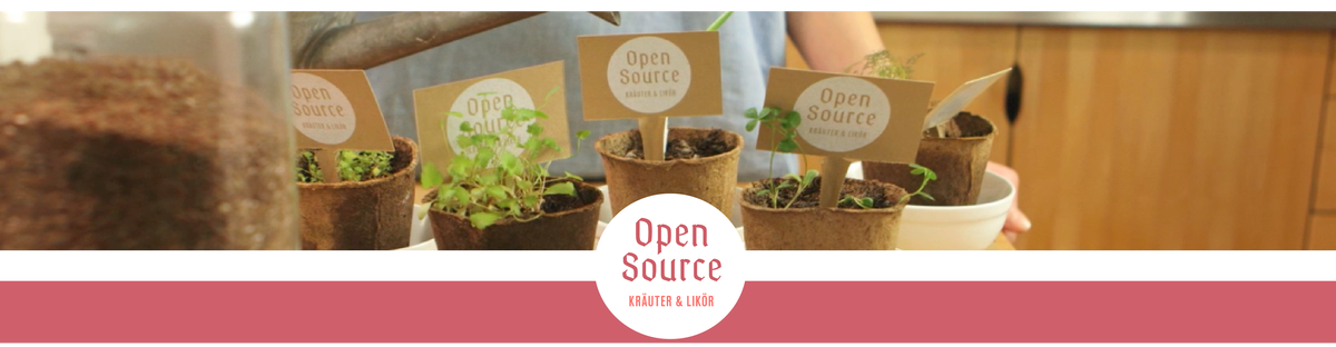 Open Source –Kräuter und Likör
