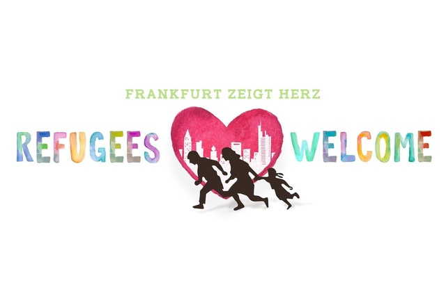 Refugees Welcome: Frankfurt zeigt Herz e. V.