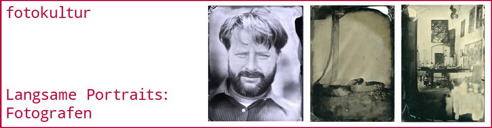 Langsame Portraits von Fotografen (Kollodium-Nassplatten-Verfahren)