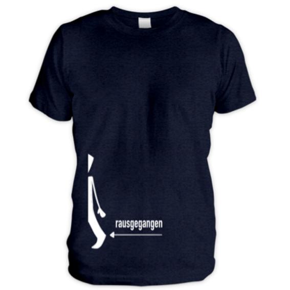 Rausgegangen T-Shirt für Männer