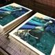 Siebdruck Kunstedition 2 - Blau-Türkis Variante