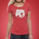 KopfNuss T-Shirt Frauen + Stickerset