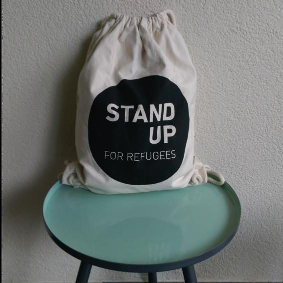 Stand up for Refugees Turnbeutel