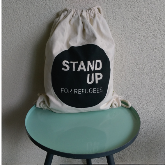 Stand up for Refugees Turnbeutel