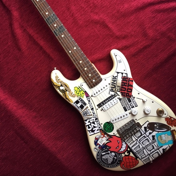 Marvins Gitarre (Fender Stratocaster)