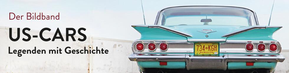 Der Bildband 'US-Cars - Legenden mit Geschichte'