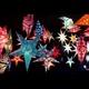 Leuchtstern aus Papier