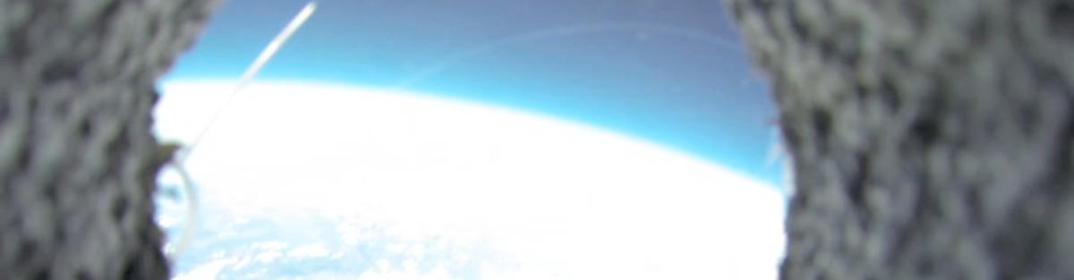 Wetterballonflug