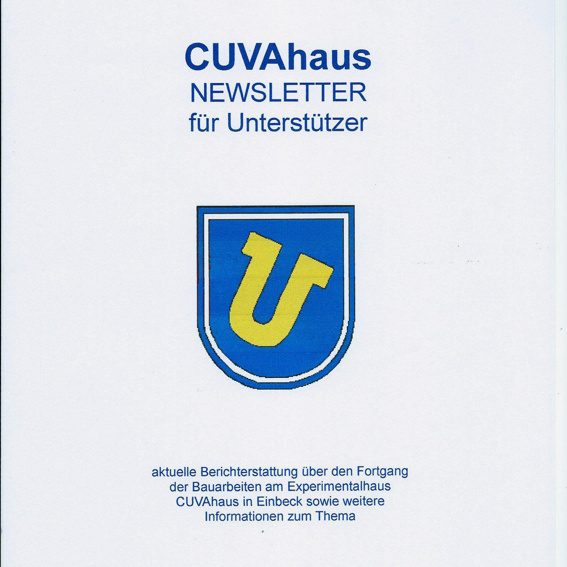 CUVAhaus Newsletter