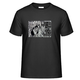 """1 x T-shirt """"Foot Print"""" (with theme and WaveFont)"""
