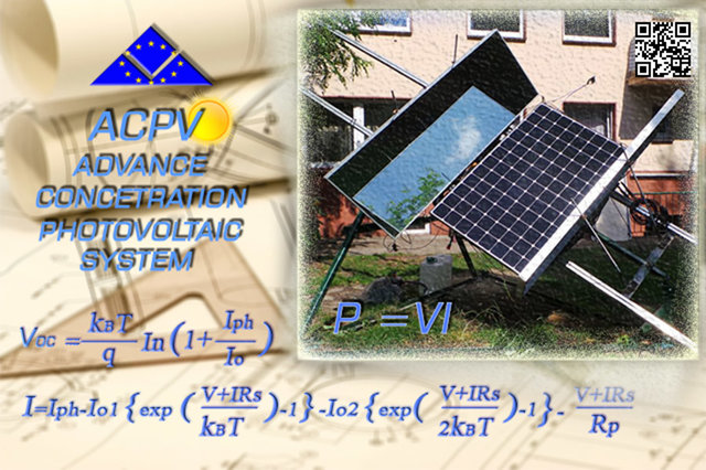 ACPV - prototype project of Advanced Concentrated Photovoltaic syste