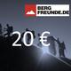 BERGFREUNDE 20-Euro-Gutschein