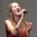 Gesangsunterricht mit Lilly
