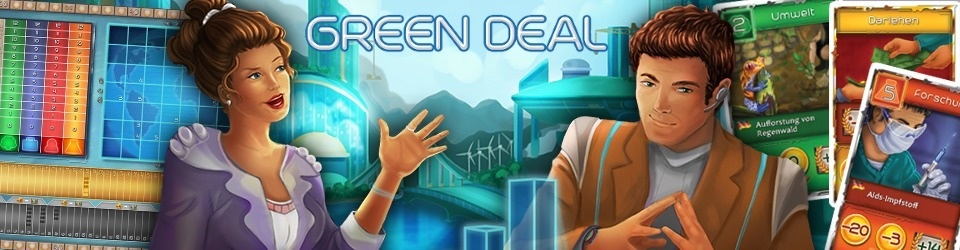 GREEN DEAL - The Strategy Board Game