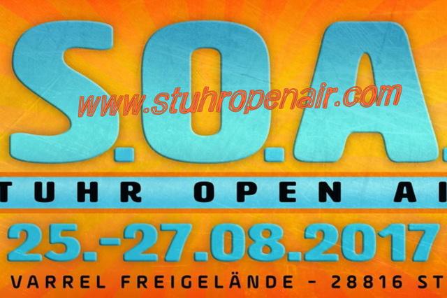 S.O.A. 2017 - unterstütze (D)EIN Musikfestival