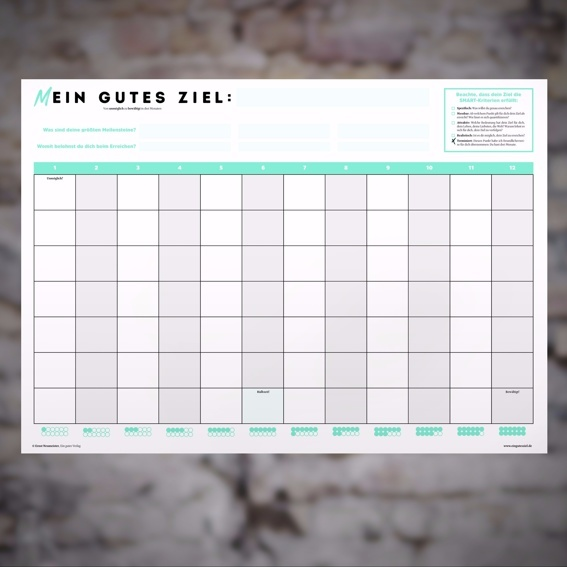3-Monate-Wandkalender