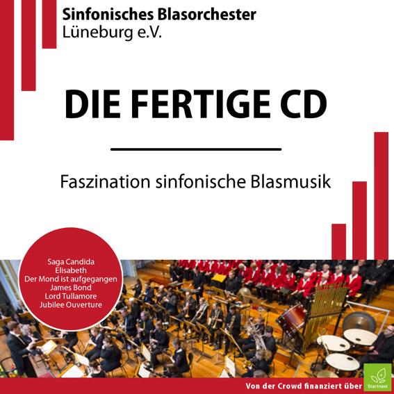 Die fertige CD