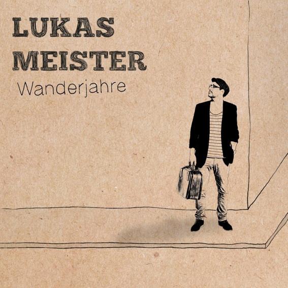 "Lukas Meister - CD ""Wanderjahre"", handsigniert"