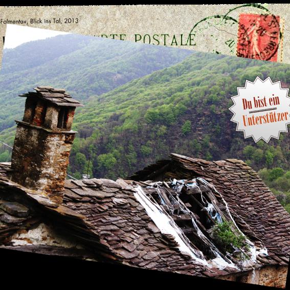 Handsignierte Postkarte aus Marseille