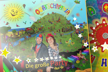 Kinder-Hörspiel-QUATSCHMANIA - Die große Party