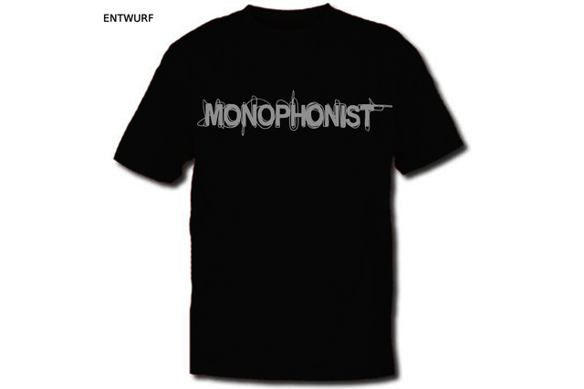 MONOPHONIST: CD Pressung + T-Shirts
