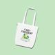Ein Grüne-Kombüse - Bio-Stoffbeutel für dich!