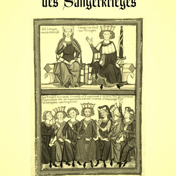 """CD und Lesebuch """"Sängerkrieg auf der Wartburg"""""""