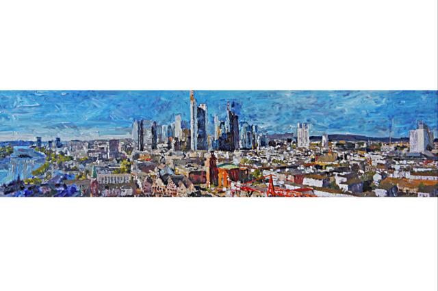 StadtpanoramArt - gemalte Stadtpanoramen