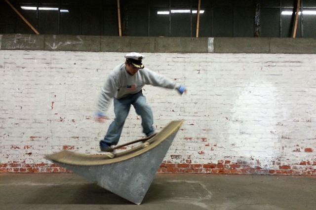 SKARECO SKATEHALL - eine temporäre Skatehalle für Hamburg