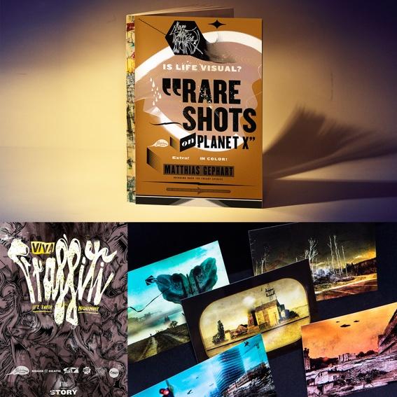 RARE SHOTS Buch signiert, VIVA GRAFFITI Poster und POISONED POSTCARDS - Set