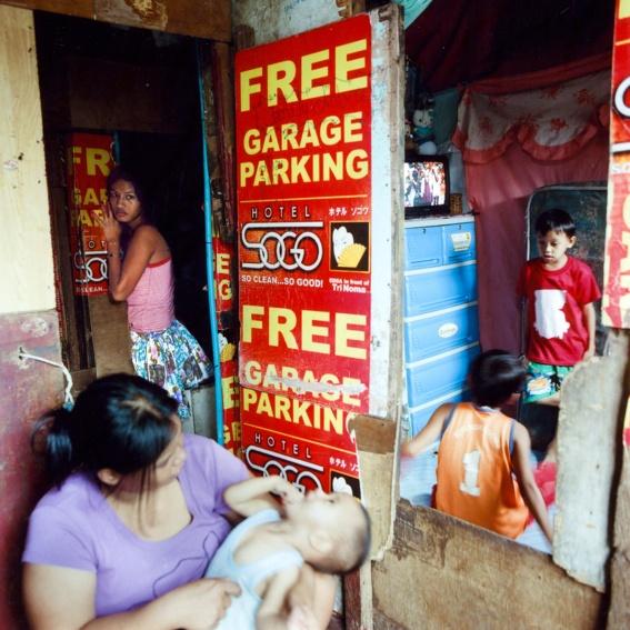 "Handsignierte Dankespostkarte ""Manila"""