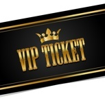 VIP Ticket & Champagner
