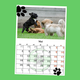 Personalisierter Dogsharing Kalender 2018