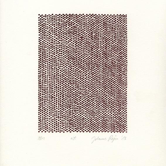 Screen Print by Johannes Regin