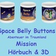 Fan-Set: Space Belly Buttons Becher