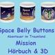Fan-Set: Space Belly Buttons Becher