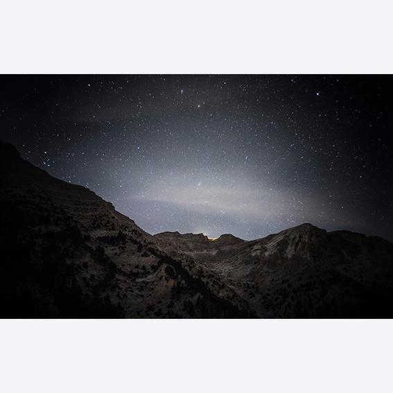 Fotoprint Stars over Olymp