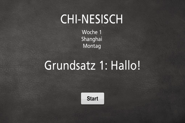 CHI-NESISCH: Chinesisch lernen in 3 Monaten
