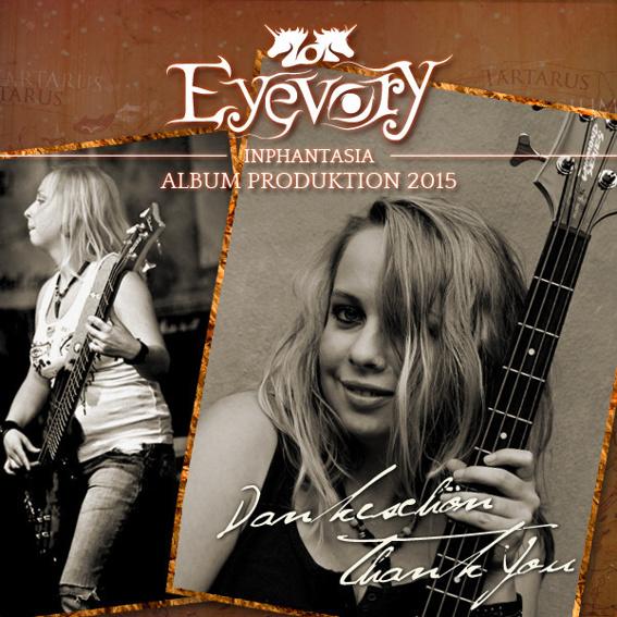 Signierter Eyevory Bass + CD