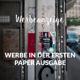 PAPER-Anzeige