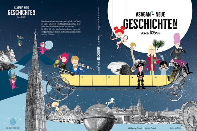 DAS BUCH VON ASAGAN aus Wien – Neue Geschichte(n)