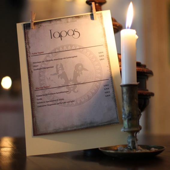 Exklusives Candle Light Dinner im Restaurant des FUCHS u. ELSTER