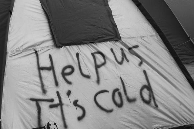 Kunst gegen Kälte