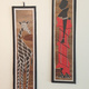 Bananenblatt Collage aus Kibera (40cm x12cm)