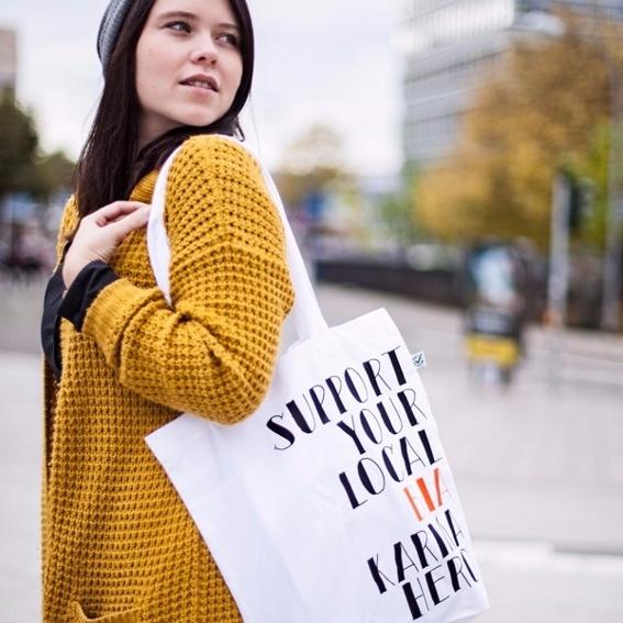 Karma Hero Shopping Bag